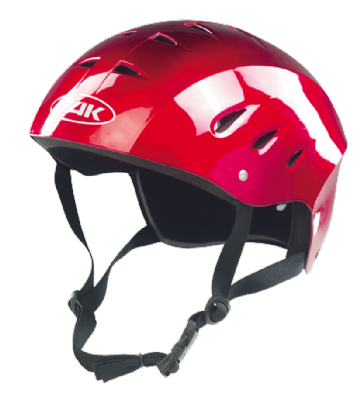 Yak Kontour Helmet Metallic Red
